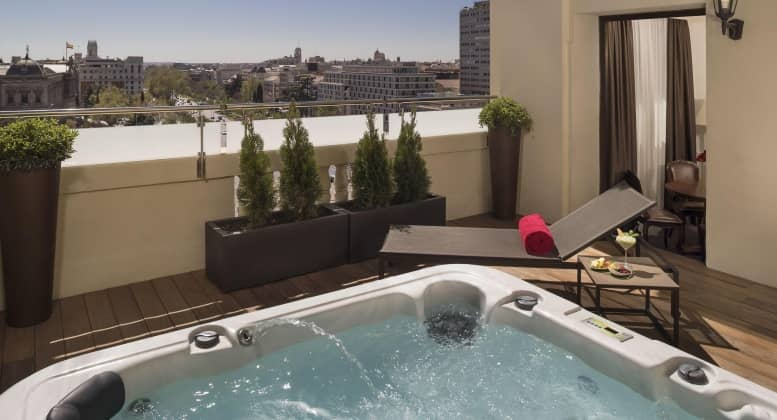 hotel gran melia fenix en madrid
