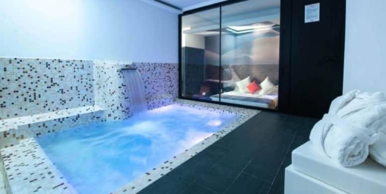 hoteles con piscina privada en madrid loob