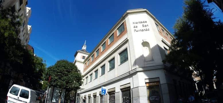 mercado gastronómico de san fernando en madrid