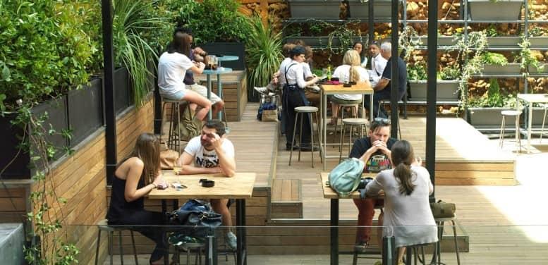 mercado gastronómico de san ildefonso en madrid