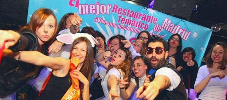 restaurante temático para despedidas en madrid