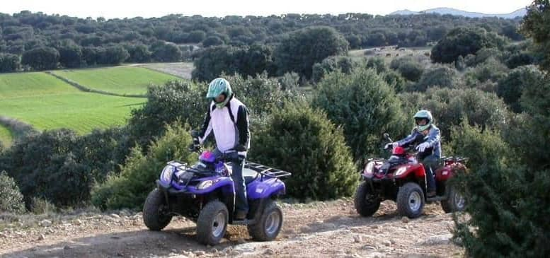 ruta en quad por la sierra norte de madrid