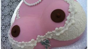 tarta de senos para despedidas